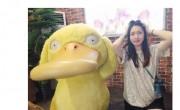 翟晓川晒妻子模仿可达鸭相片 网友:不会挨揍吗  